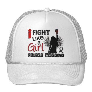 Fight Like A Girl Melanoma 26 2 Mesh Hat