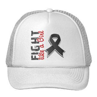 Fight Like A Girl Melanoma 28 8 Mesh Hat