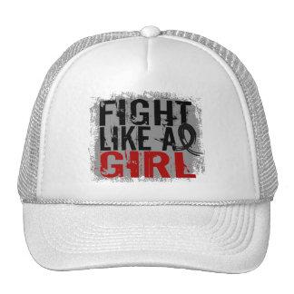 Fight Like a Girl Melanoma 31 8 Trucker Hats