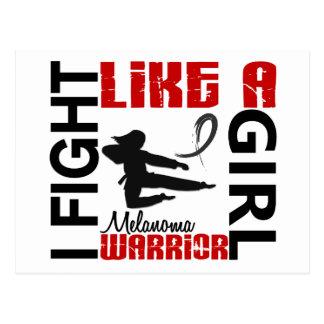 Fight Like A Girl Melanoma 3 2 Post Card