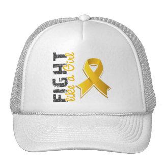 Fight Like A Girl Neuroblastoma 28 8 Hats