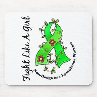 Fight Like A Girl Non-Hodgkin s Lymphoma 29 4 Mousepad