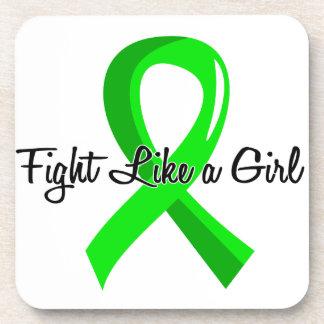 Fight Like A Girl Non-Hodgkin s Lymphoma 41 8 Beverage Coaster