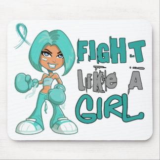 Fight Like a Girl PKD 42 8 png Mousepad