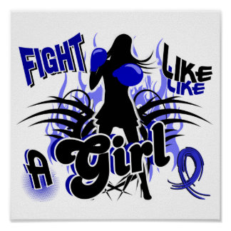 Fight Like A Girl Rheumatoid Arthritis 35 8 Print