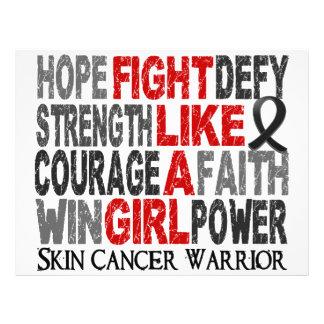 Fight Like A Girl Skin Cancer 23 4 Flyer