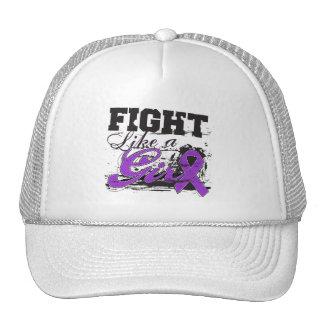 Fight Like a Girl Spray Paint - Alzheimers Disease Cap
