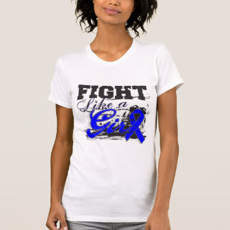 Fight Like a Girl Spray Paint - Anal Cancer T-shirts