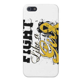 Fight Like a Girl Spray Paint - Appendix Cancer iPhone 5 Case