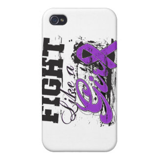 Fight Like a Girl Spray Paint - Cystic Fibrosis iPhone 4/4S Cover