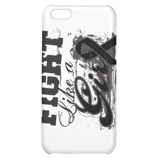 Fight Like a Girl Spray Paint - Melanoma Cover For iPhone 5C
