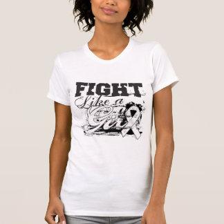 Fight Like a Girl Spray Paint - Retinoblastoma T-shirt