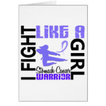 Fight Like A Girl Stomach Cancer 3.2 Card