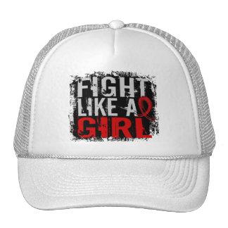 Fight Like a Girl Stroke 31 8 Trucker Hat