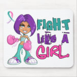 Fight Like a Girl Thyroid Cancer 42.8.png Mousemat