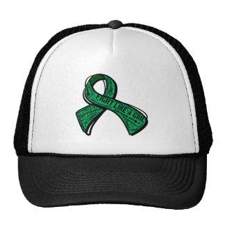 Fight Like a Girl Watermark - Liver Disease Trucker Hat