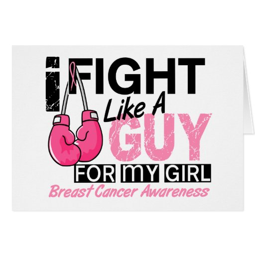 Fight Like A Guy Breast Cancer Cards