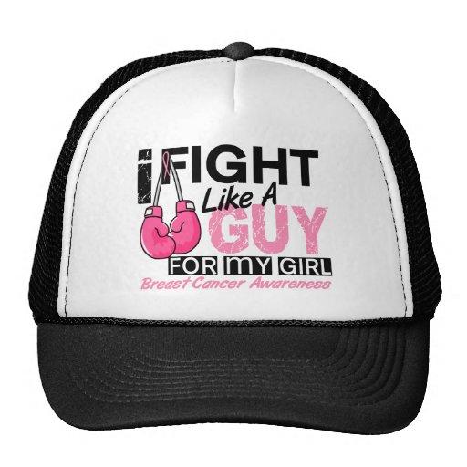 Fight Like A Guy Breast Cancer Trucker Hats