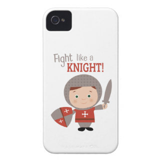 Fight Like A Knight! iPhone 4 Cover