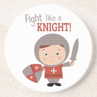 Fight Like A Knight! Drink Coaster