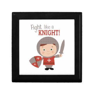 Fight Like A Knight! Trinket Box