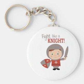 Fight Like A Knight! Keychains