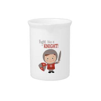 Fight Like A Knight! Drink Pitcher
