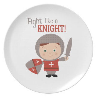 Fight Like A Knight! Party Plates