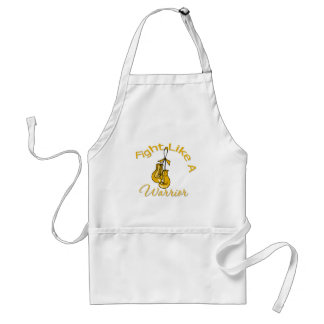 Fight Like A Warrior Appendix Cancer Apron