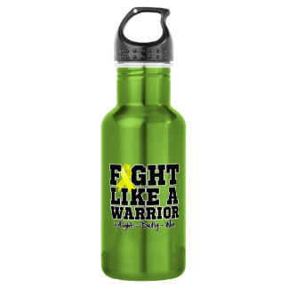 Fight Like a Warrior Endometriosis 532 Ml Water Bottle