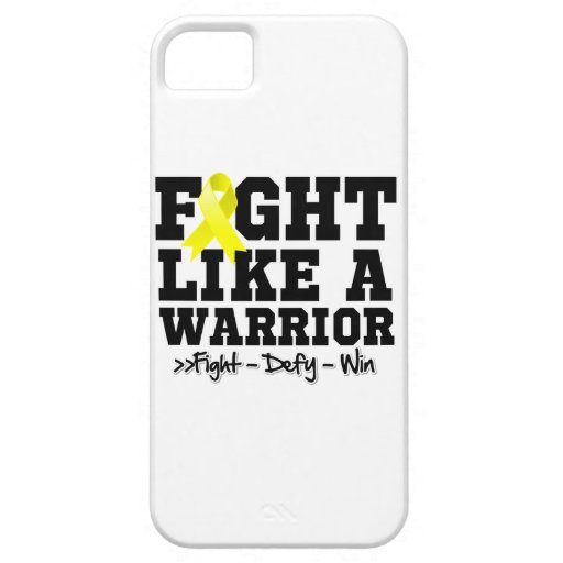 Fight Like a Warrior Endometriosis iPhone 5 Covers