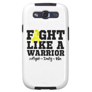 Fight Like a Warrior Endometriosis Samsung Galaxy SIII Covers