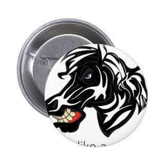 Fight Like a Zebra Button