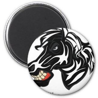 Fight Like a Zebra Fridge Magnets