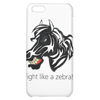 Fight Like a Zebra.png iPhone 5C Covers