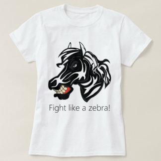 Fight Like a Zebra.png T-Shirt