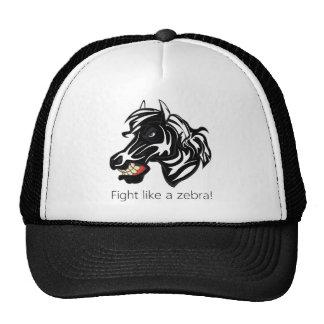 Fight Like a Zebra.png Trucker Hats
