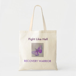 Fight Like Hell!! Canvas Bags