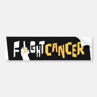 Fight Liver Cancer Bumper Sticker Car Bumper Sticker