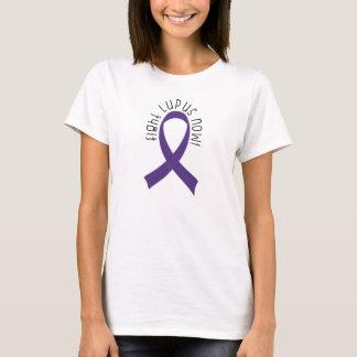 Fight Lupus Purple Ribbon T-Shirt