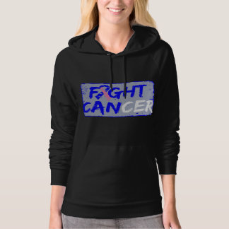 Fight Male Breast Cancer Hooded Pullover