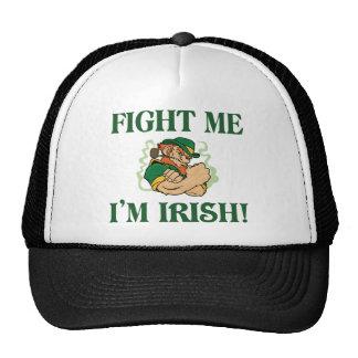 Fight Me I'm Irish Trucker Hat