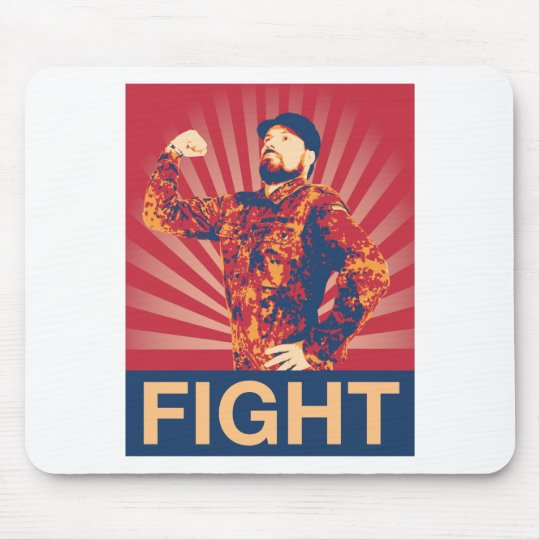 FIGHT MOUSE PAD