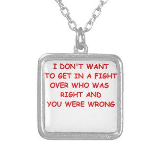 fight pendant