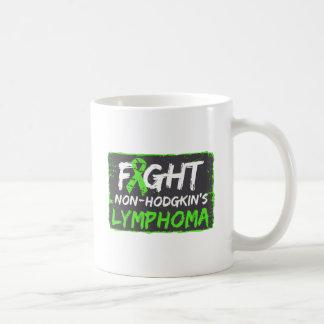 Fight Non-Hodgkins Lymphoma Cancer Basic White Mug