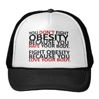 Fight Obesity Cap
