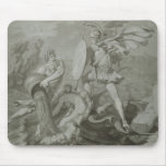 Fight of Achilles with the River Scamander Mouse Mat