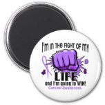 Fight Of My Life 2 Cancer Fridge Magnet