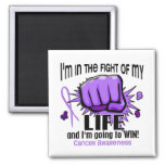 Fight Of My Life 2 Cancer Fridge Magnets