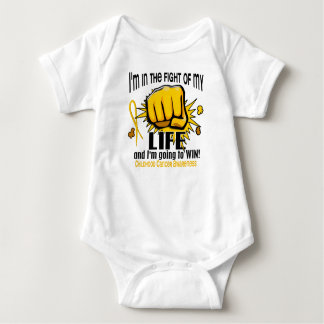 Fight Of My Life 2 Childhood Cancer Baby Bodysuit